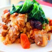 香菇排骨糯米饭的做法