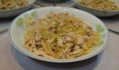 鸡胸肉炒白菜的做法视频