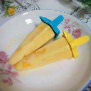 酸奶芒果冰棍的做法