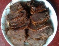 卤牛腱子肉的做法视频