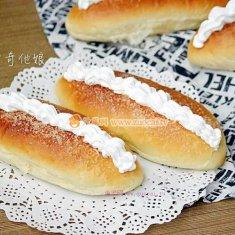 砂糖奶油面包的做法