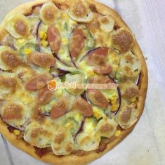 墨鱼丸披萨的做法