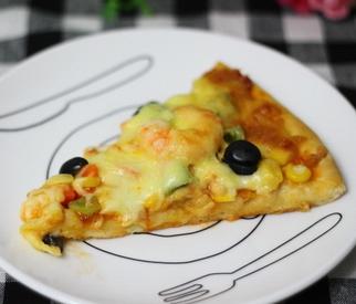 怎么做鲜虾披萨