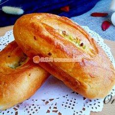 葱香面包的做法