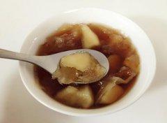 红糖苹果银耳汤的做法视频