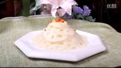姜汁藕片的做法视频
