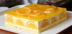 橘子蛋糕的做法视频