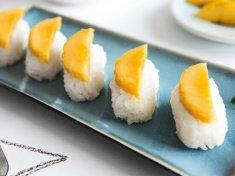 芒果糯米寿司的做法视频