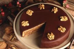 巧克力杏仁蛋糕的做法视频