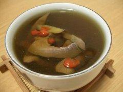 黄花通草猪肝汤的做法视频
