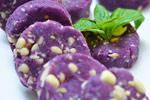 紫薯果仁饼