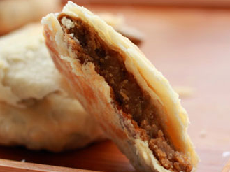 电烤箱版绿豆饼的做法 潮汕传统绿豆饼甜点