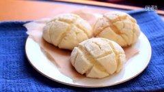 蜜瓜面包做法(メロンパン)的做法视频