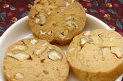 枫糖花生扭结饼干的做法视频