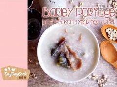 皮蛋瘦肉薏米粥的做法视频
