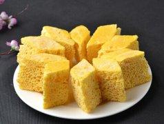 纯玉米面发糕的做法