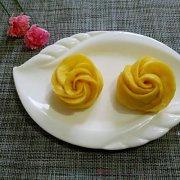 南瓜玫瑰花的做法