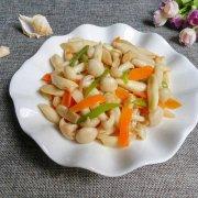 蚝油海鲜菇的做法