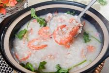 砂锅虾粥的做法