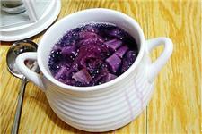 银耳紫薯汤