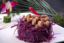 紫土豆的做法