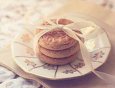 电烤箱烤饼干
