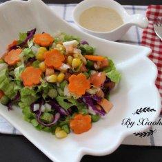 减肥食谱推荐 蔬菜沙拉的做法