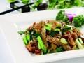 木耳肉片炒扁豆的做法视频