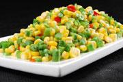 玉米粒炒酸豆角的做法视频