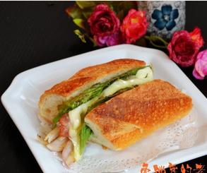 培根洋葱法棍三明治的家常做法