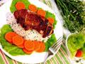 日式照烧鸡排饭的做法