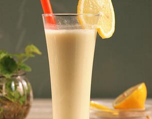 柠檬枸杞豆浆的家常做法