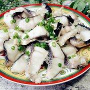 葱油黑鱼片的做法