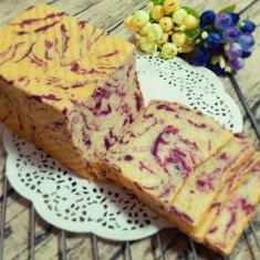 紫薯北海道土司的做法