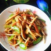 孕妇菜谱水笋炒肉丝的做法