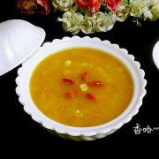 南瓜薏米羹的做法