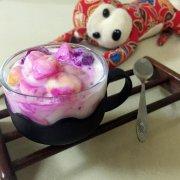 酸奶水果捞的做法