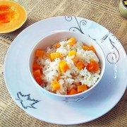 南瓜米饭的做法