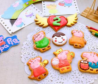 小猪佩奇糖霜饼干的家常做法
