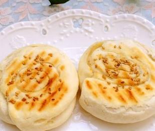 椒盐芝麻饼的家常做法
