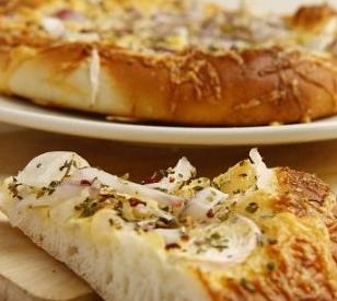 芝士洋葱佛卡夏面包的家常做法
