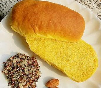 南瓜淡奶油面包的家常做法