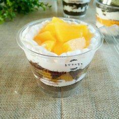 黄桃木糠杯的做法