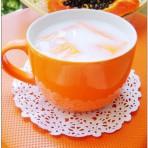 椰奶炖木瓜糖水
