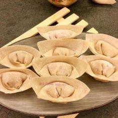 鲜肉荸荠饺子的做法