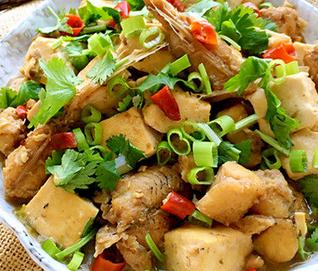 豉香胖头鱼炖豆腐的家常做法
