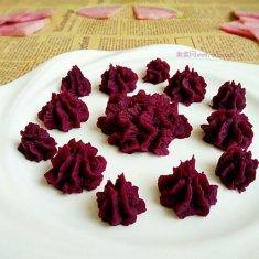 甜蜜紫薯泥的做法