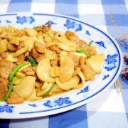 酱香杏鲍菇肉片的做法