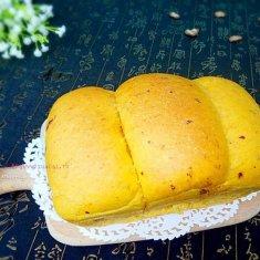 红枣南瓜吐司的做法