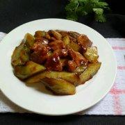 蚝油青瓜肉片的做法